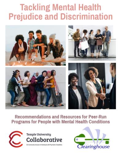 Tackling Mental Health Prejudice & Discrimination Cover
