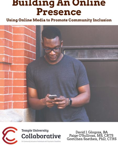 Building An Online Presence: Using Online Media to Promote Community Inclusion Covefr