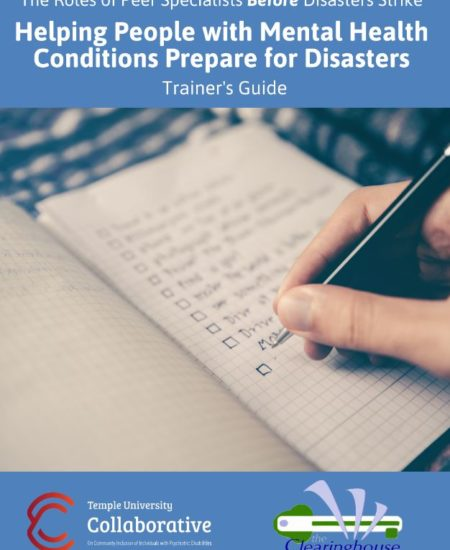 Helping People with Mental Health Conditions Prepare for Disasters Cover