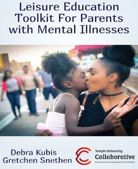 Leisure Education Toolkit for Parents with Mental Illnesses Cover