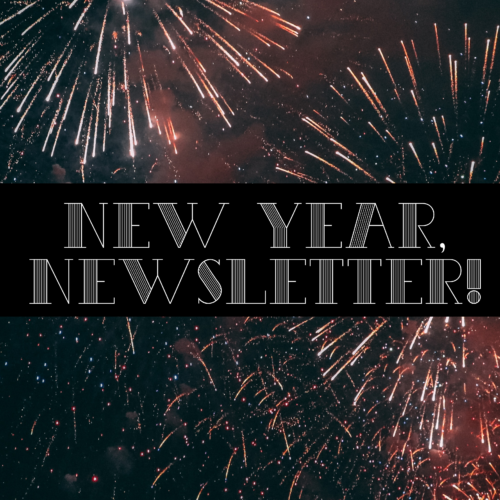 new year, newsletter